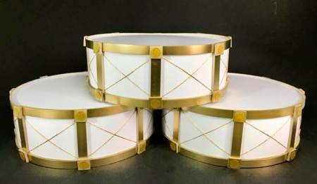 gold drum bases