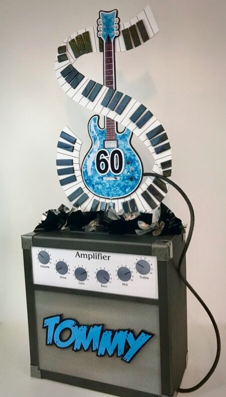 Birthday amp gift card box with keyboard